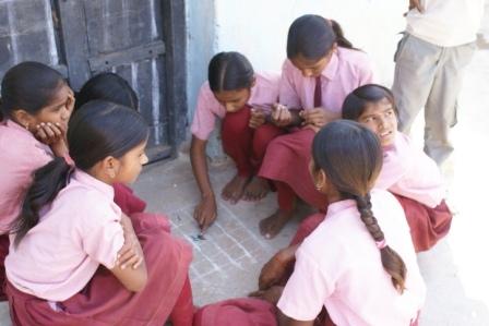 Kinderen spelen net als overal op de wereld