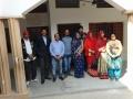 Het onderwijzend personeel  van Kashi mandir School - The staff of Kashi Mandir School