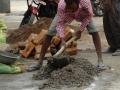 Woningverbetering in India - reconstructing their house  (2)