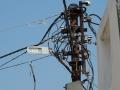 Een van de redenen van regelmatig stroomuitval - one of the reasons of often powercut