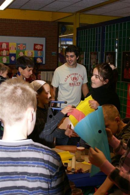 Buitenlandse studenten van de Stenden Hogeschool hielpen mee aan het succes