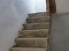 De trap naar het dakterras
