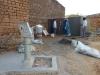 6 nieuwe toiletten, gescheiden voor jongens en meisjes, gefinancierd vanuit de stichting in Nederland