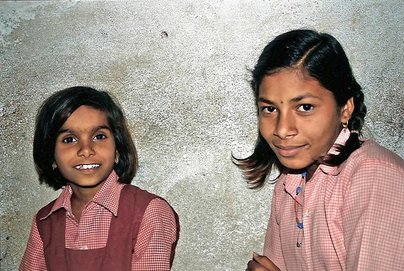 Twee meisjes van de hoogste groep