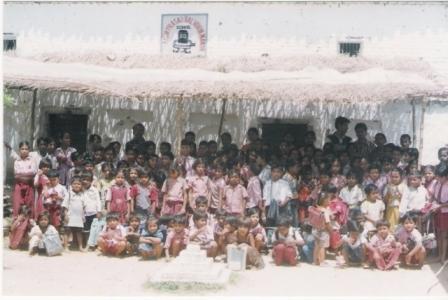 De schoolbevolking in 2006