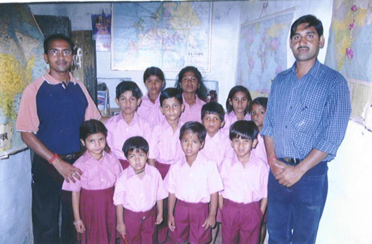 Schooluniformen zijn in India erg belangrijk, het is een deel van je schoolidentiteit.