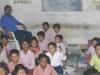 De school is opgericht in 2000, een initiatief van deze onderwijzer: mr Prabhat Mani Mishra.