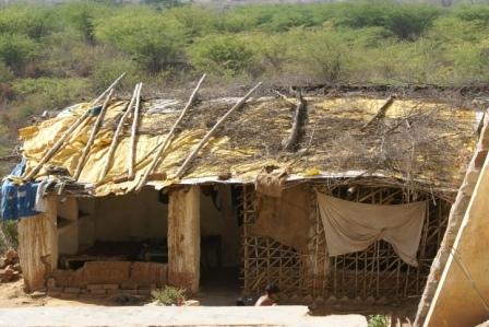 Zo ziet een gemiddeld huis van een arme familie er uit