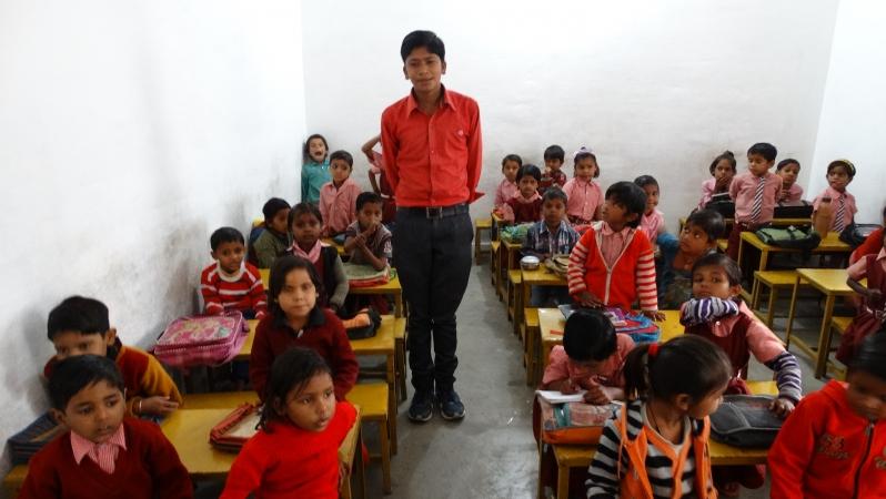groep 2-3 met meester Rahul