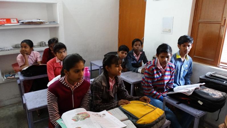 studenten van goep 8-10
