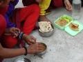 lunchtijd, vaak eenzijdige voeding