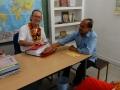 mr Rutger en mr Prabhat
