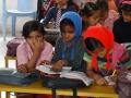 Indiase kinderen hebben het snel koud