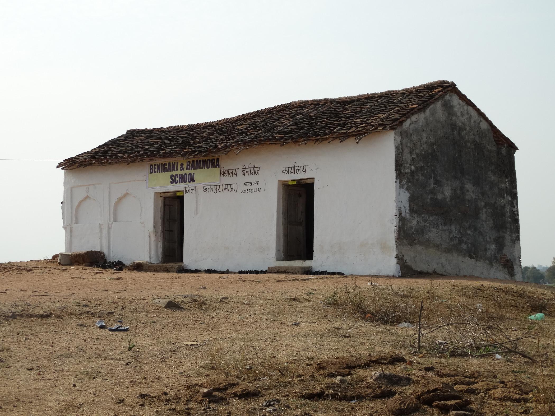 In de nieuwe dependance in Beniganj gaan nu 50 kinderen naar school