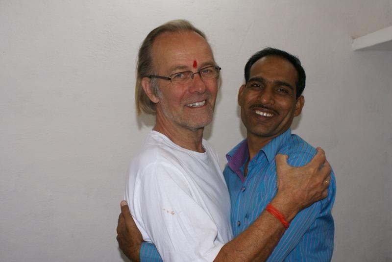 De Nederlandse voorzitter Rutger en de Indiase voorzitter Manesh