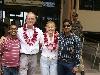 De sleutelfiguren van het project v.l.n.r.:Prabhat,Rutger,Margriet en Vidhya